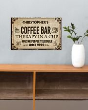 Coffee Bar Therapy In A Cup 17x11 Poster poster-landscape-17x11-lifestyle-24
