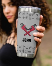 Plumber Play With- Personalized Christmas Gift 20oz Tumbler aos-20oz-tumbler-lifestyle-front-93