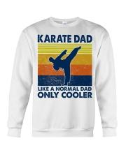 karate Dad Like A Normal Dad Only Cooler Crewneck Sweatshirt thumbnail