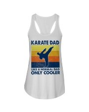 karate Dad Like A Normal Dad Only Cooler Ladies Flowy Tank thumbnail
