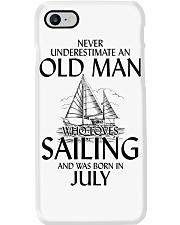 Never Underestimate Old Man Loves SailingJuly Phone Case thumbnail