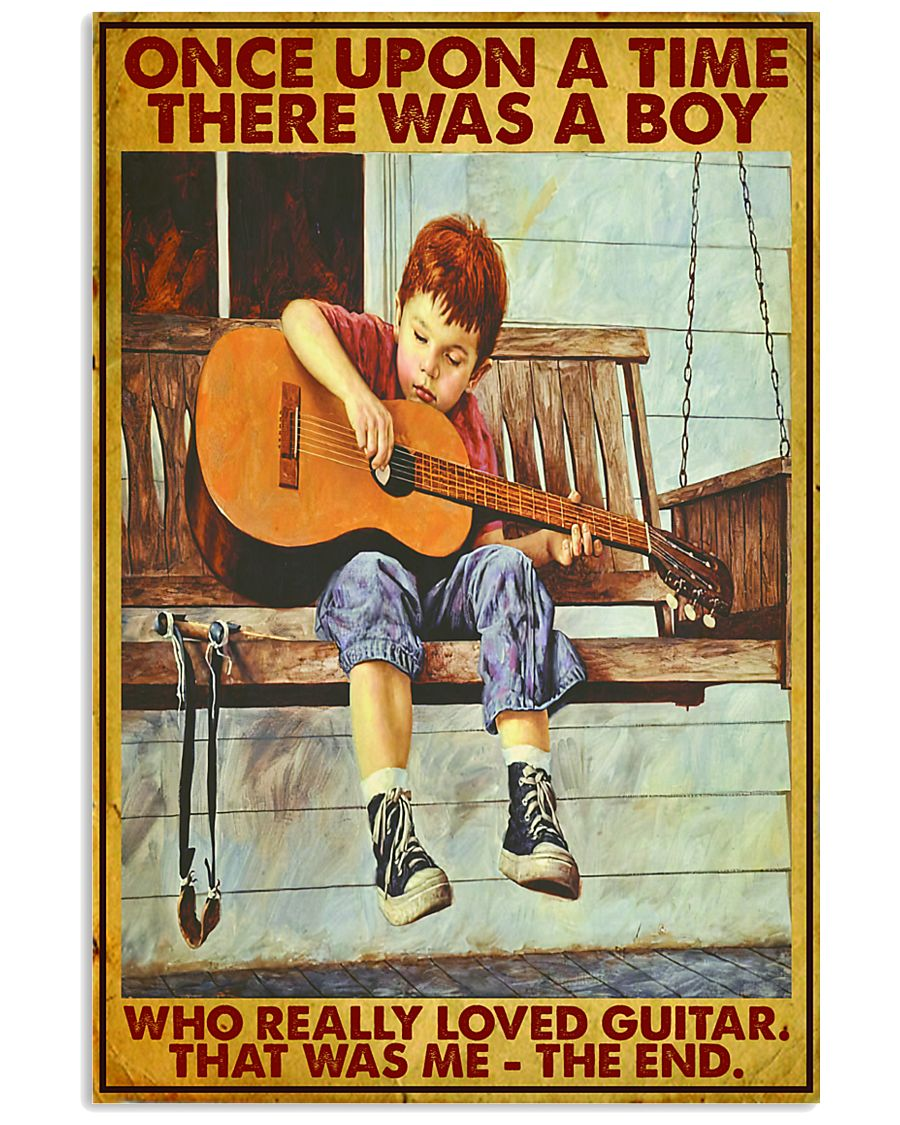 Once Upon A Time Guitar Boy 24x36 Poster