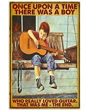 Once Upon A Time Guitar Boy 24x36 Poster front
