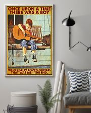 Once Upon A Time Guitar Boy 24x36 Poster lifestyle-poster-1