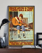 Once Upon A Time Guitar Boy 24x36 Poster lifestyle-poster-2