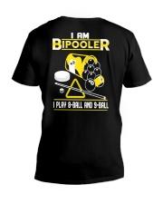 Billiards I'm A Bipooler V-Neck T-Shirt tile