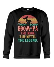 Boom-pa The man The Myth Crewneck Sweatshirt tile