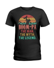 Boom-pa The man The Myth Ladies T-Shirt tile
