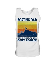 Boating Dad Like A Normal Dad Only Cooler Unisex Tank thumbnail