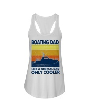 Boating Dad Like A Normal Dad Only Cooler Ladies Flowy Tank thumbnail