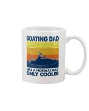 Boating Dad Like A Normal Dad Only Cooler Mug thumbnail