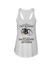 Old Woman Photography September Ladies Flowy Tank thumbnail