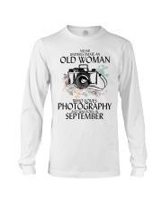 Old Woman Photography September Long Sleeve Tee thumbnail
