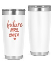 Engaged Future Mrs Tumbler Chrismas Gift 20oz Tumbler front