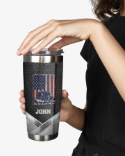 Amerian Truck Driver -To my husband from wife 20oz Tumbler aos-20oz-tumbler-lifestyle-front-25
