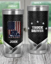 Amerian Truck Driver -To my husband from wife 20oz Tumbler aos-20oz-tumbler-lifestyle-front-59