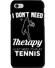 Tennis I Don't Need Therapy Phone Case tile