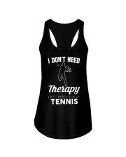 Tennis I Don't Need Therapy Ladies Flowy Tank tile