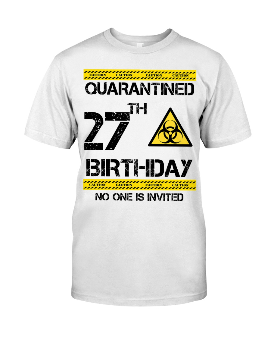 27th Birthday 27 Years Old Classic T-Shirt