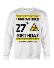 27th Birthday 27 Years Old Crewneck Sweatshirt thumbnail