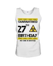 27th Birthday 27 Years Old Unisex Tank thumbnail