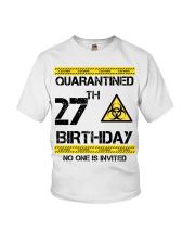 27th Birthday 27 Years Old Youth T-Shirt thumbnail
