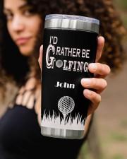 I'd Rather Be Golfing 20oz Tumbler aos-20oz-tumbler-lifestyle-front-93