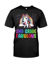 2nd Grade Fabulous Classic T-Shirt front