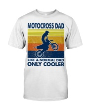 motocross Dad Like A Normal Dad Only Cooler Classic T-Shirt tile