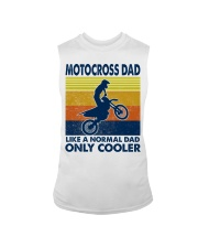 motocross Dad Like A Normal Dad Only Cooler Sleeveless Tee tile