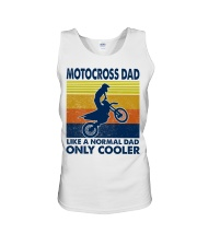 motocross Dad Like A Normal Dad Only Cooler Unisex Tank tile