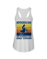 motocross Dad Like A Normal Dad Only Cooler Ladies Flowy Tank tile