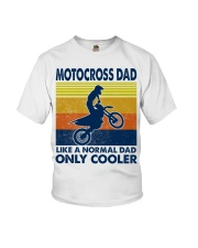 motocross Dad Like A Normal Dad Only Cooler Youth T-Shirt tile