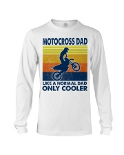 motocross Dad Like A Normal Dad Only Cooler Long Sleeve Tee tile