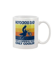 motocross Dad Like A Normal Dad Only Cooler Mug tile