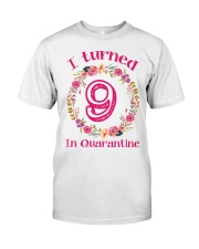 9th Birthday 9 Years Old Classic T-Shirt front