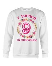 9th Birthday 9 Years Old Crewneck Sweatshirt thumbnail