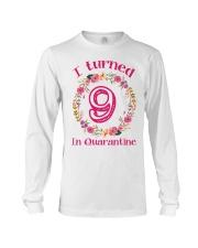 9th Birthday 9 Years Old Long Sleeve Tee thumbnail