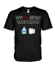 80th Birthday 80 Year Old V-Neck T-Shirt tile