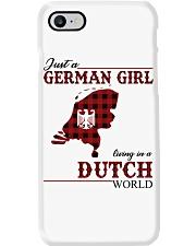 Just A German Girl In Dutch World Phone Case thumbnail