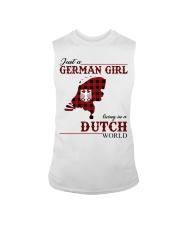 Just A German Girl In Dutch World Sleeveless Tee thumbnail