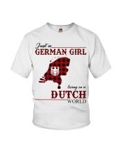 Just A German Girl In Dutch World Youth T-Shirt thumbnail