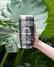 Trucker East Bound And DownTo my husband from wife 20oz Tumbler aos-20oz-tumbler-lifestyle-front-13