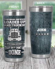 Trucker East Bound And DownTo my husband from wife 20oz Tumbler aos-20oz-tumbler-lifestyle-front-59