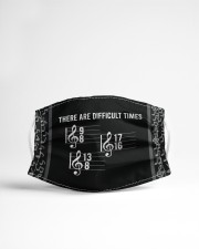 Piano Music These Are Difficult Times Cloth face mask aos-face-mask-lifestyle-22