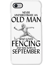 An Old Man Loves Fencing September Phone Case thumbnail