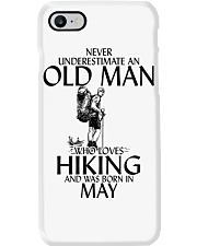 Never Underestimate Old Man Hiking May Phone Case thumbnail