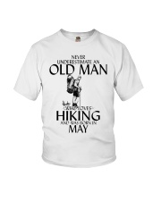 Never Underestimate Old Man Hiking May Youth T-Shirt thumbnail