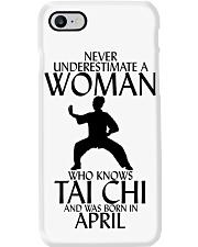 Never Underestimate Woman Tai Chi April Phone Case thumbnail