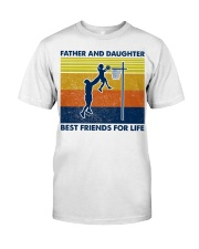 basketball Father And Daughter Classic T-Shirt front